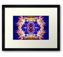 The Circle Of Life Abstract Mandala Artwork Framed Print