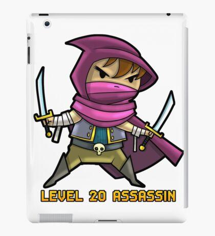 Level 20 Assassin iPad Case/Skin
