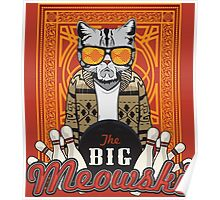 The Big Meowski Poster