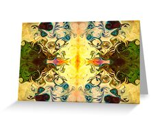 Abstract Ball Of Energy Greeting Card