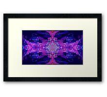 Mastering Universal Ideals Abstract Healing Artwork Framed Print