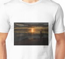 Never mind the fish, look at the view! Unisex T-Shirt