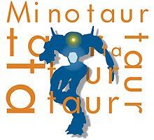 Minotaur Taur Vex Destiny by grimradke