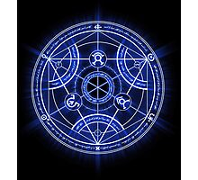 Human Transmutation Circle Photographic Print
