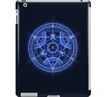 Human Transmutation Circle iPad Case/Skin