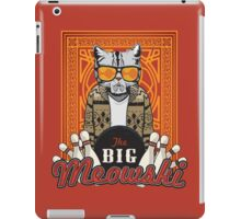 The Big Meowski iPad Case/Skin