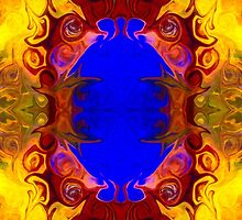 Wisdom Of The Ages Abstract Patterned Artwork  by owfotografik