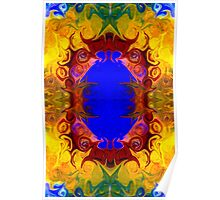 Wisdom Of The Ages Abstract Patterned Artwork  Poster