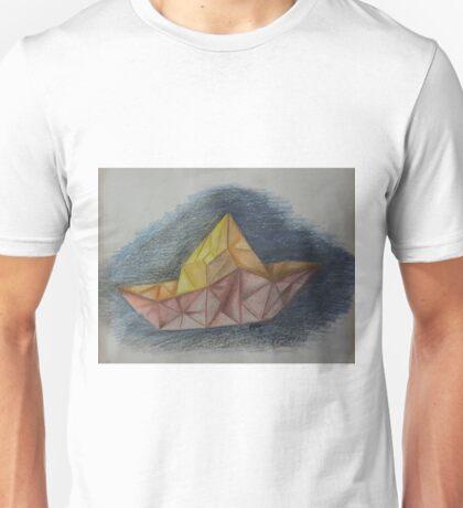 Mi barco de papel Unisex T-Shirt