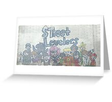 Street Levelers Characters (Webcomic) Greeting Card
