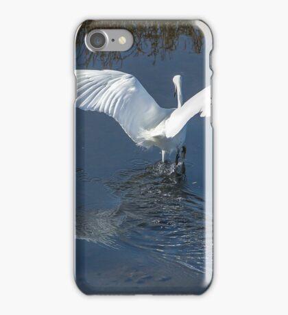 Flying Angel - Snowy Egret iPhone Case/Skin