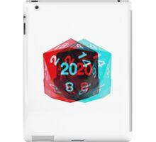 3D D20 iPad Case/Skin