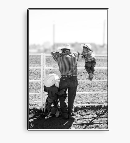 First Rodeo Canvas Print