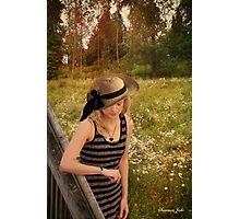 Summer Reverie ~ Alone in a Meadow Photographic Print
