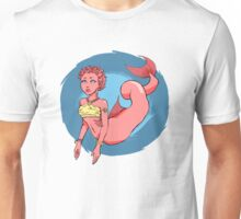 Mermaid in the Sea Unisex T-Shirt