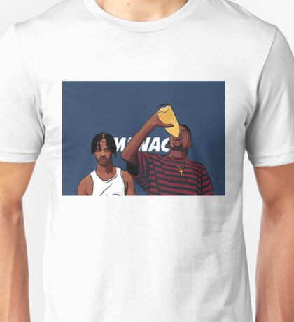 "Caine and O-Dog of Menace II Society ""Corner Store Tings"" Unisex T-Shirt"