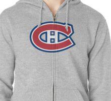 Montreal Canadiens Zipped Hoodie