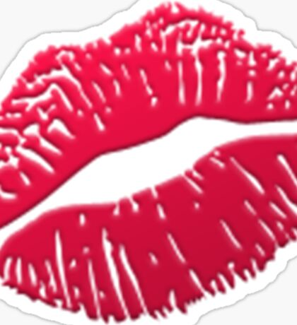 Emoji Kiss Sticker
