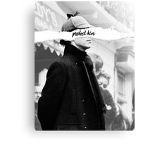 Protect Sherlock Holmes Canvas Print