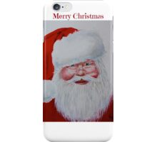 Santa www.nicolebarros.com iPhone Case/Skin