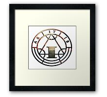 As It Is Never Happy Ever After Framed Print