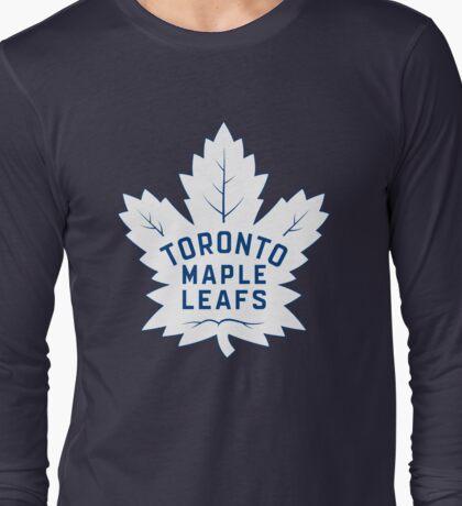 Toronto Maple Leafs New Home Logo Long Sleeve T-Shirt