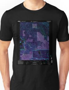 USGS TOPO Map California CA Spring Garden 295286 1994 24000 geo Inverted Unisex T-Shirt