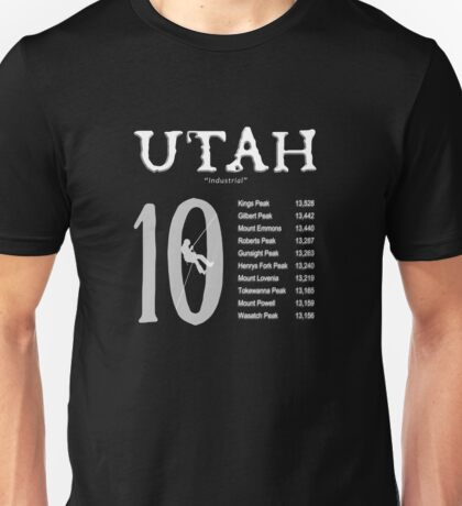 Utah 10  Unisex T-Shirt