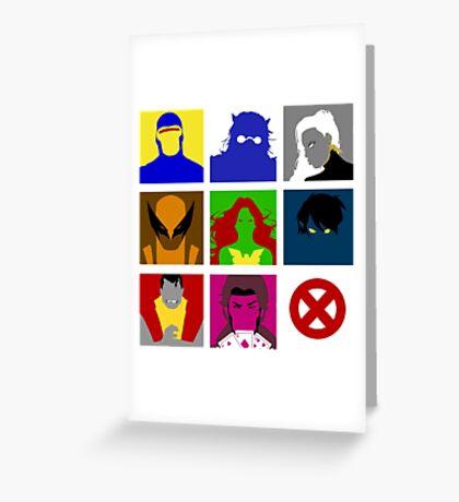 X-Men UNITE!! Greeting Card