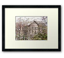 Winter Home - Hill End Framed Print