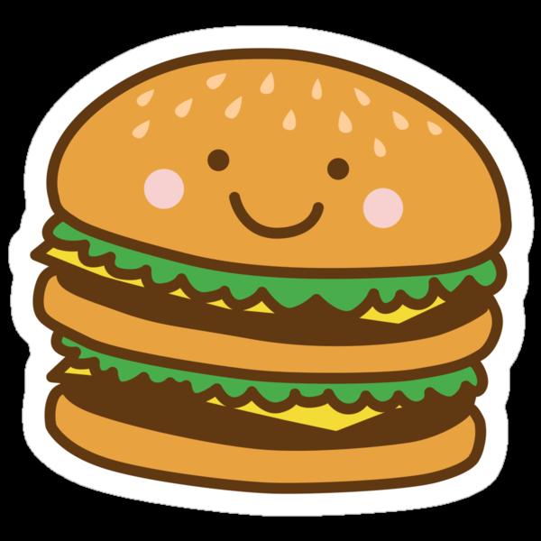Cute Hamburger by DetourShirts