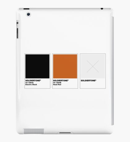 The Colorists - SOLDIERTONE iPad Case/Skin