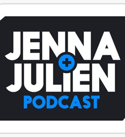 jenna julien podcast Sticker