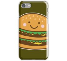 Cute Hamburger iPhone Case/Skin