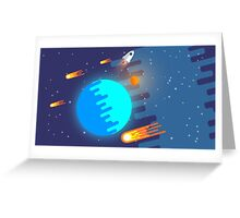 Space Exploration Greeting Card