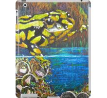 Australian  Corroboree Frog from a Pastel Painting by Heather Holland iPad Case/Skin