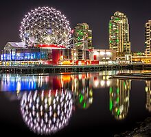 Vancouver Science World in False Creek by Sabine Edrissi
