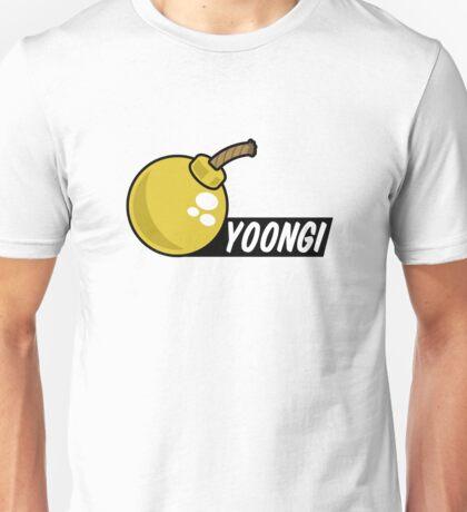 BTS/Bangtan Boys Yoongi + Bomb Unisex T-Shirt