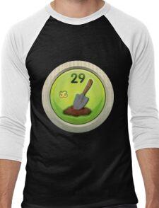 Glitch Achievement shovel jockey Men's Baseball ¾ T-Shirt