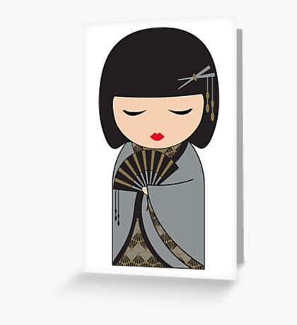 Yoso Girl - Kinzoku Greeting Card