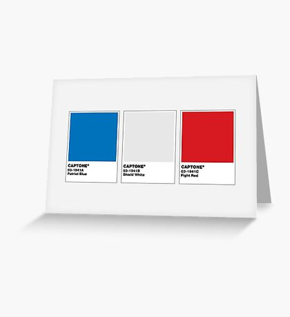 The Colorists - CAPTONE Greeting Card