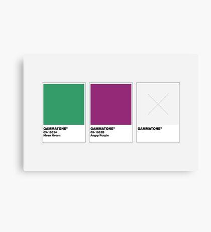 The Colorists - GAMMATONE Canvas Print