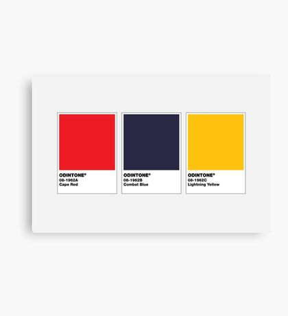 The Colorists - ODINTONE Canvas Print
