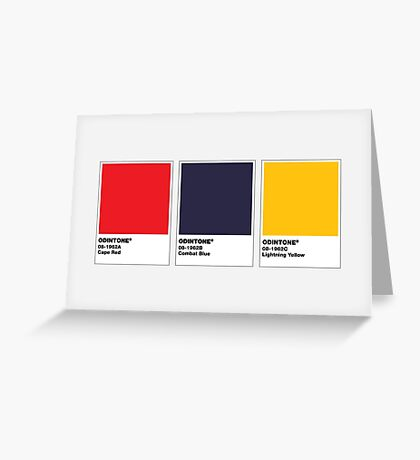 The Colorists - ODINTONE Greeting Card
