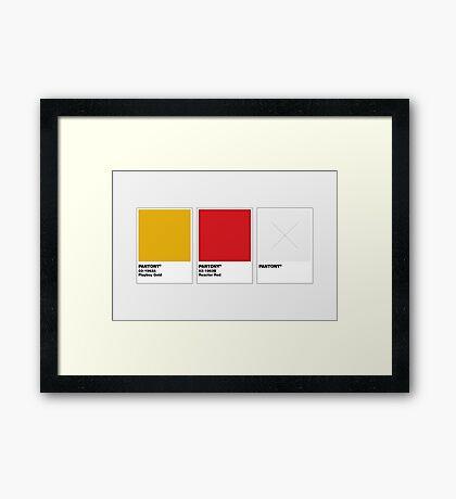 The Colorists - PANTONY Framed Print
