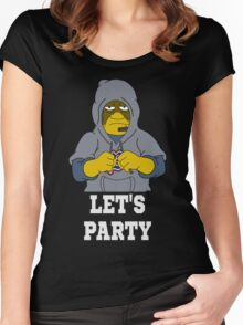Bill Lets Party Women's Fitted Scoop T-Shirt