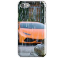 Wet Huracan  iPhone Case/Skin
