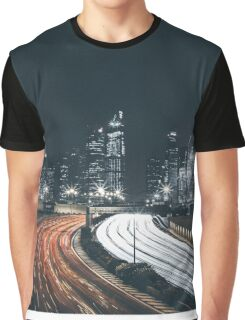 Time lapse city Graphic T-Shirt