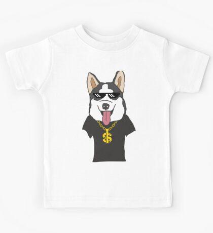 Mr Husky Thug Life Kids Tee