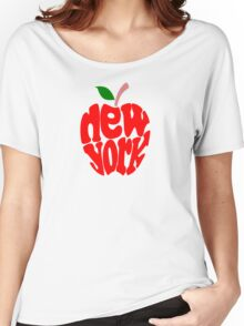 Big Apple New York Women's Relaxed Fit T-Shirt
